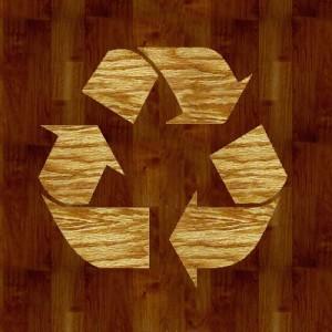 madeira reciclável